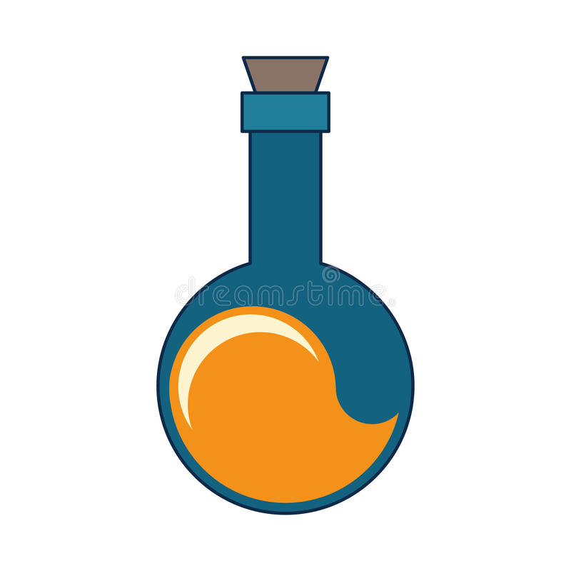 Chemiebirne vektor abbildung
