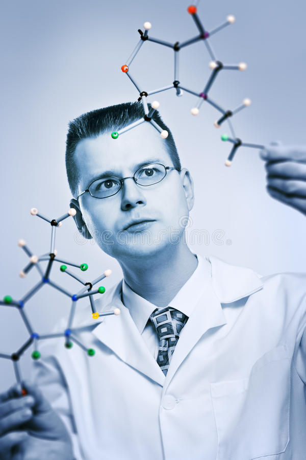 chemik zdjęcie stock