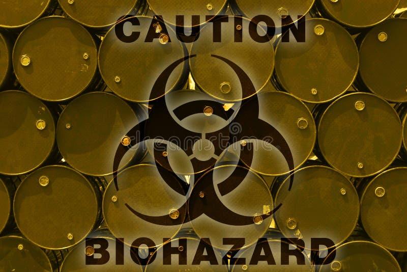 Chemikalie der Stahltank- oder Heizöltoxischen substanz lizenzfreies stockbild