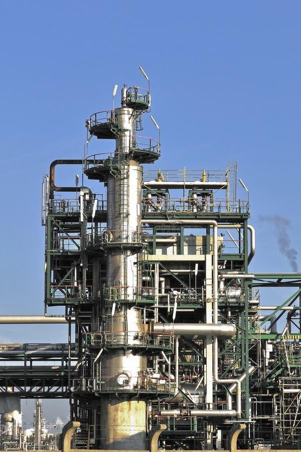 Chemikalie und Schmieröl refiniry stockfotos