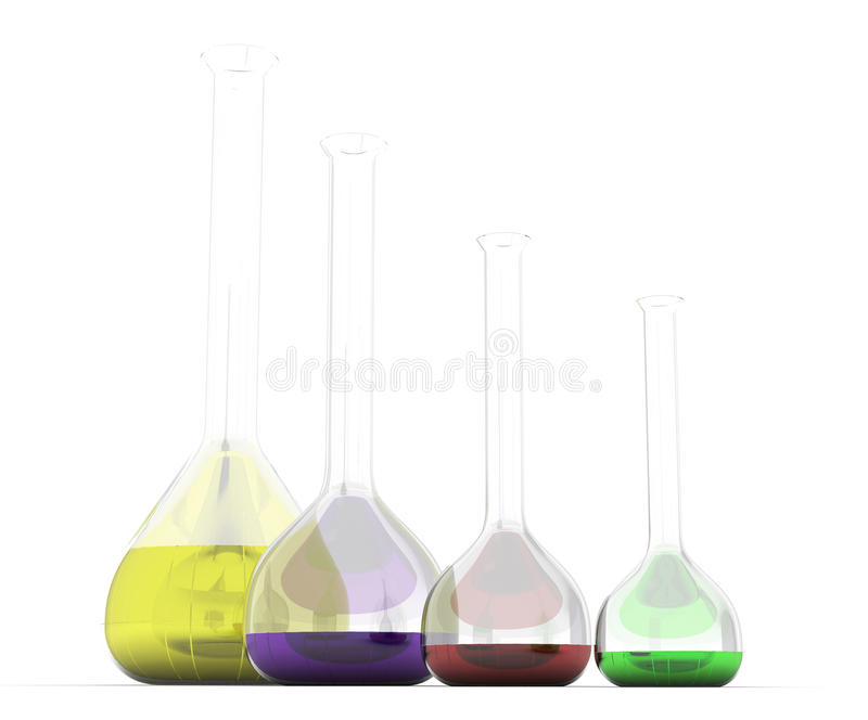 Download Chemikalien in den Kapseln stock abbildung. Illustration von medizin - 26357940
