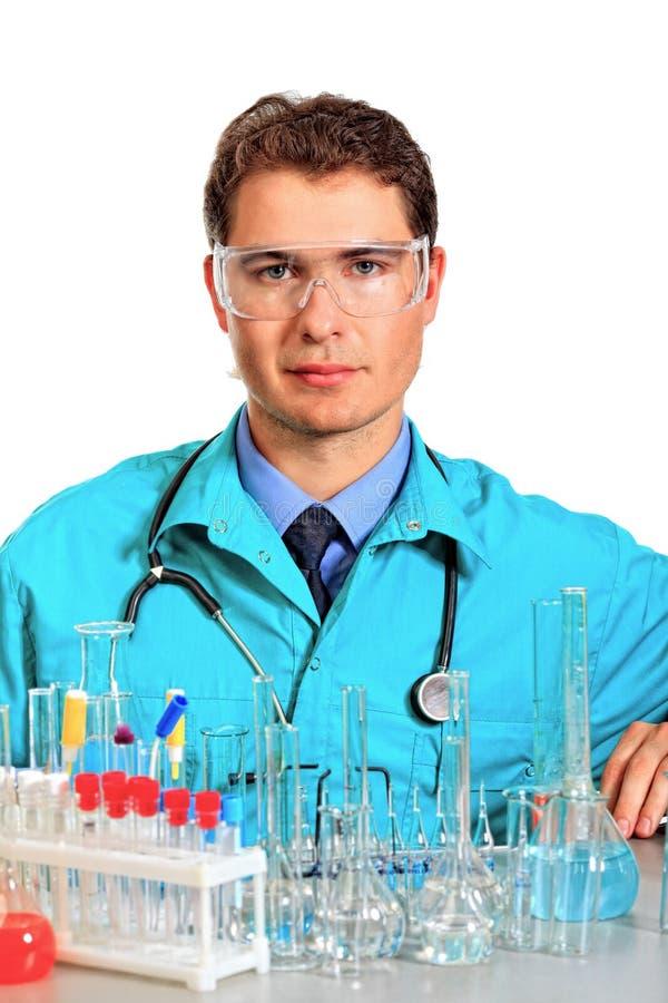 Chemiker lizenzfreies stockfoto
