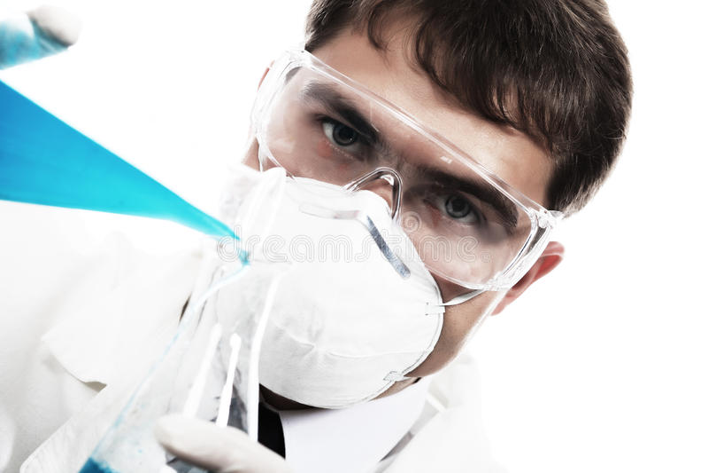 Chemiker lizenzfreie stockbilder