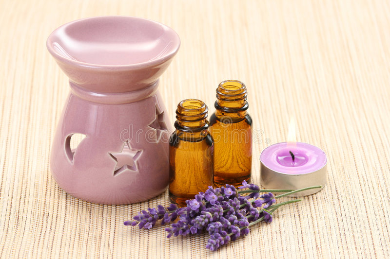 Cheminée d'Aromatherapy images stock