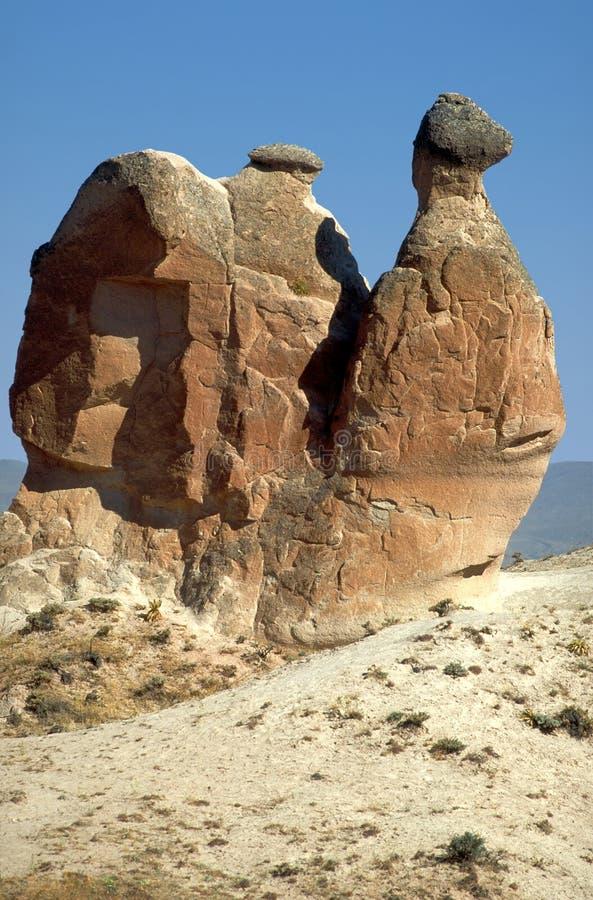 Cheminées de Cappadocia image stock