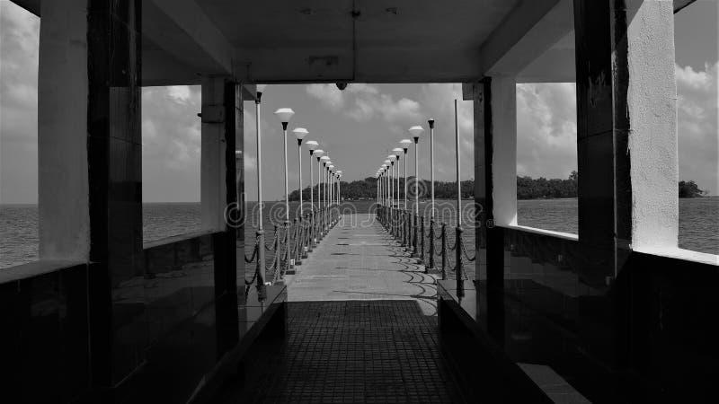 Chemin à Ross Island photographie stock libre de droits
