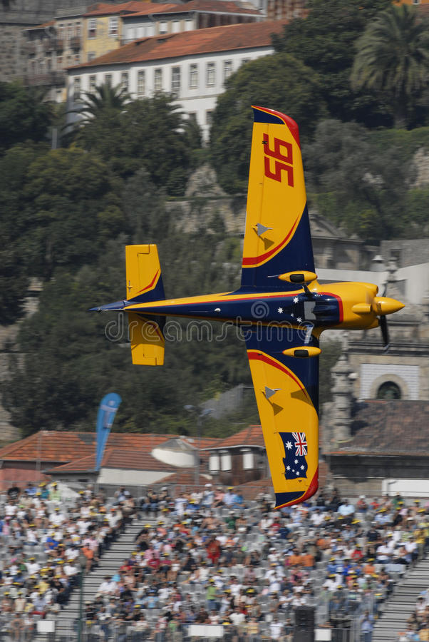 Chemin 2009 d'air de Red Bull - le Portugal image libre de droits