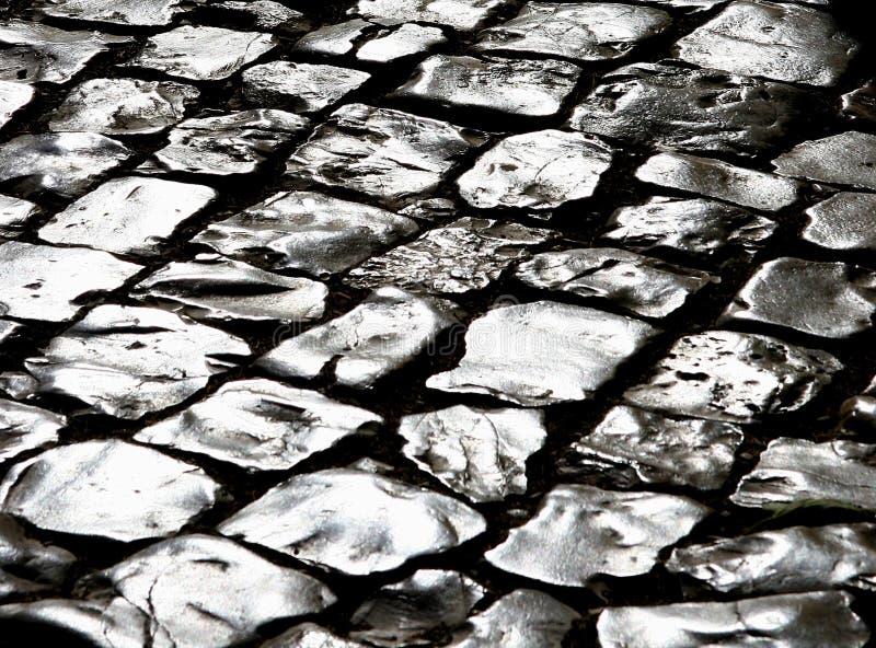 Chemin argenté image stock