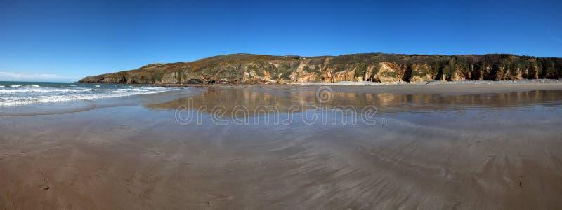 Chemin côtier d'Anglesey image libre de droits
