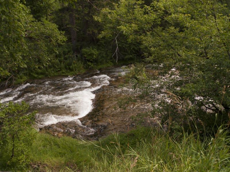 Chemin détourné scénique de canyon de Spearfish dans le Black Hills, le Dakota du Sud photos stock