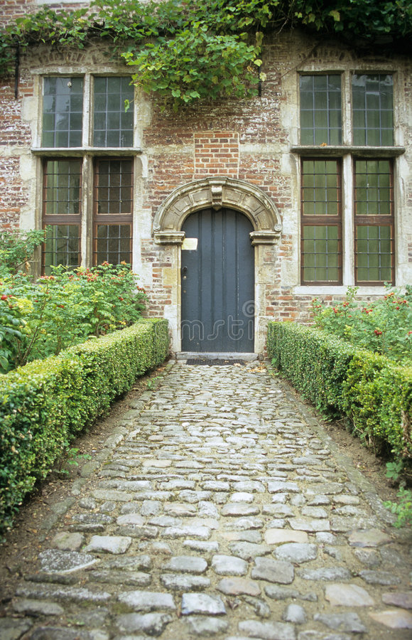 Chemin d'abbaye photo libre de droits