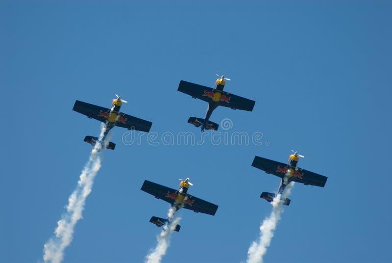 Chemin d'air de Red Bull images stock