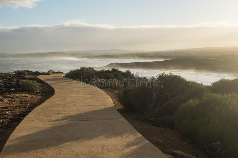 chemin d'océan à photos stock