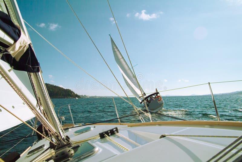Chemin de bateaux image stock