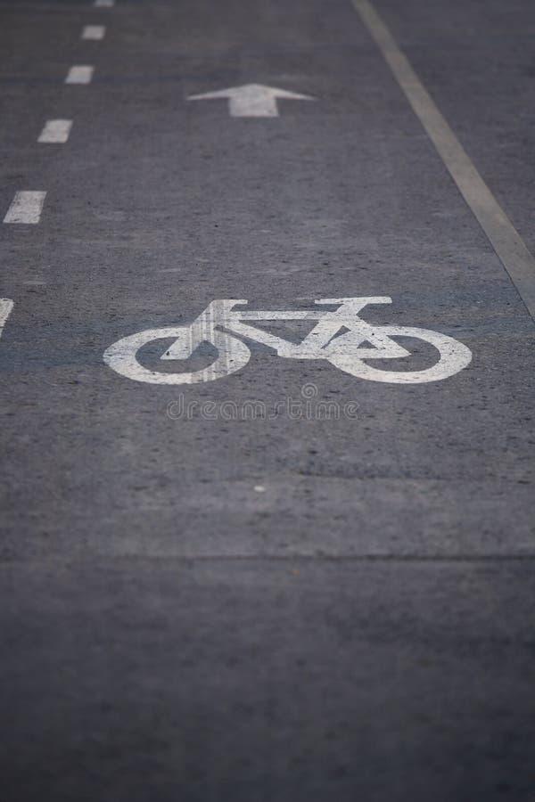 Chemin de bicyclette photographie stock