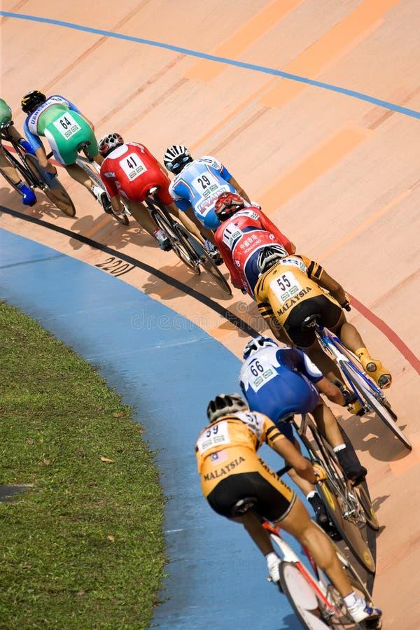 Chemin de bicyclette photographie stock libre de droits