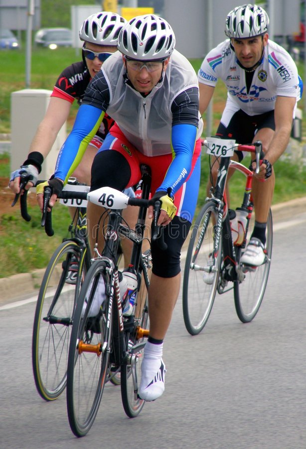chemin de bicyclette photo stock