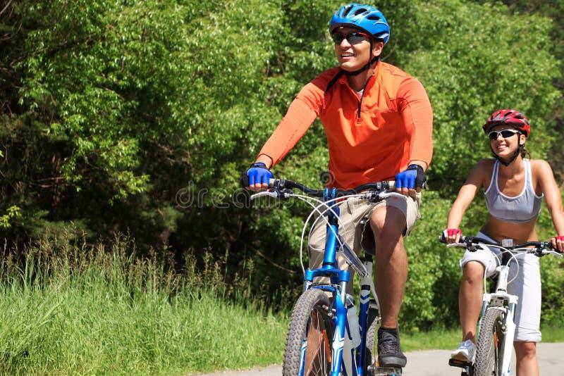 Chemin De Cycle Photos libres de droits