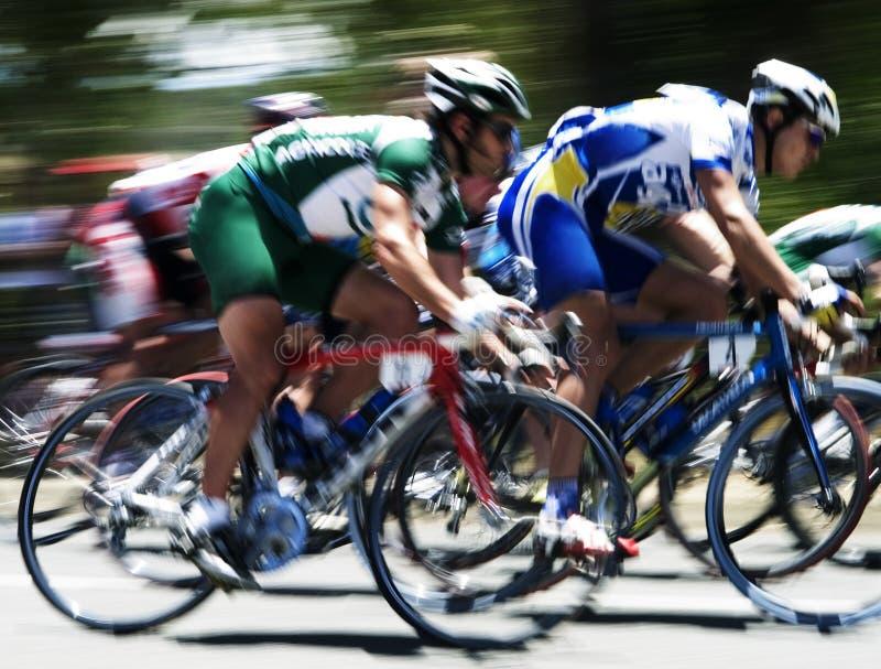 Chemin de cycle II photographie stock