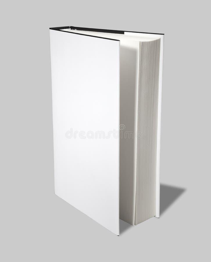 Chemin de découpage ouvert du cache W de livre blanc images stock