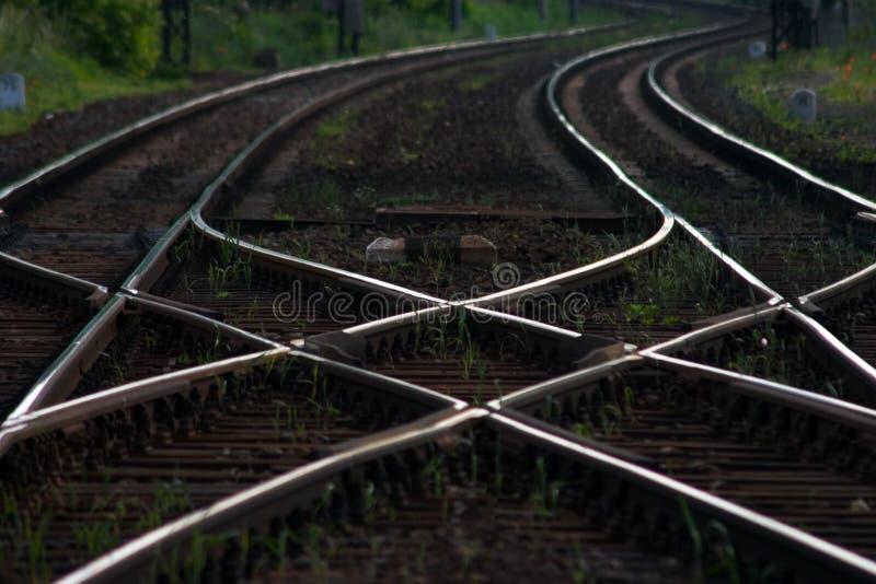Chemin de fer photos libres de droits