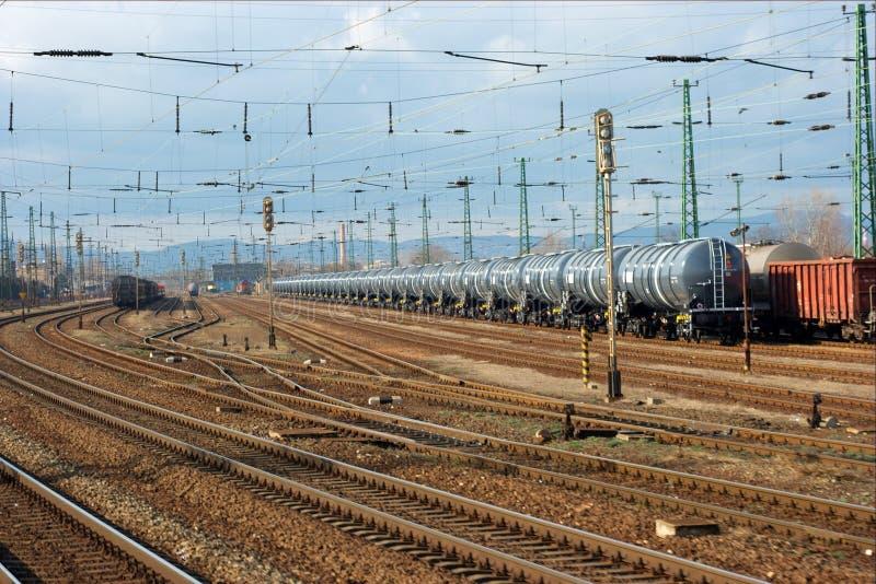 Chemin de fer photo stock