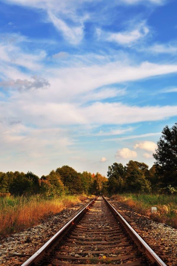Chemin de fer. photos stock