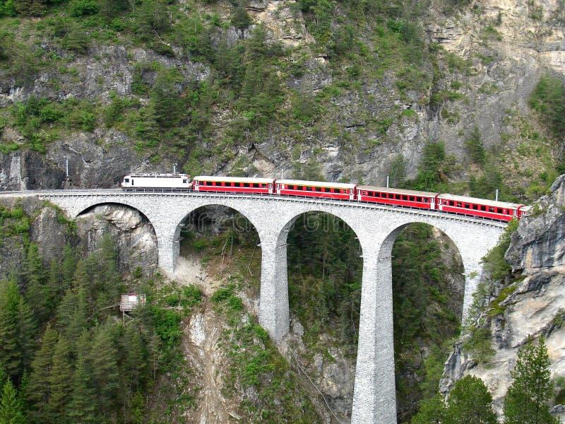Chemin de fer de jauge étroite. photo stock