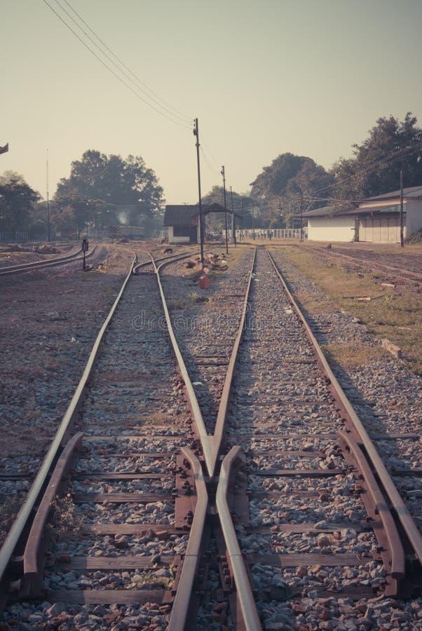 Chemin de fer de vintage photos stock