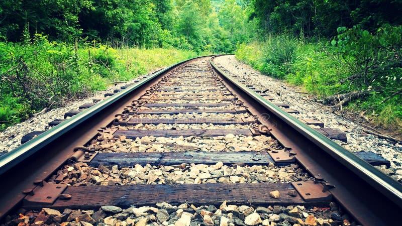 Chemin de fer de WV photo stock
