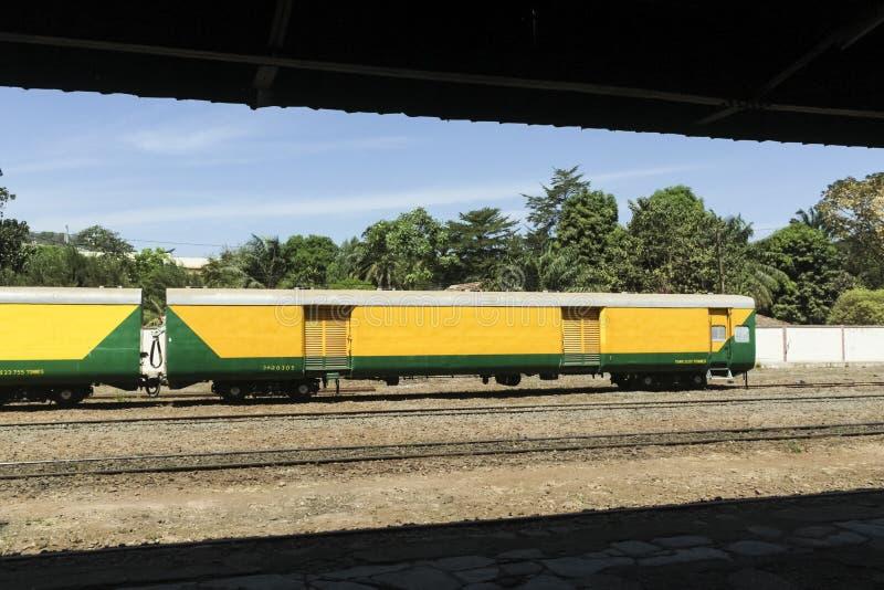 Chemin de fer du Dakar-Niger, Bamako images stock