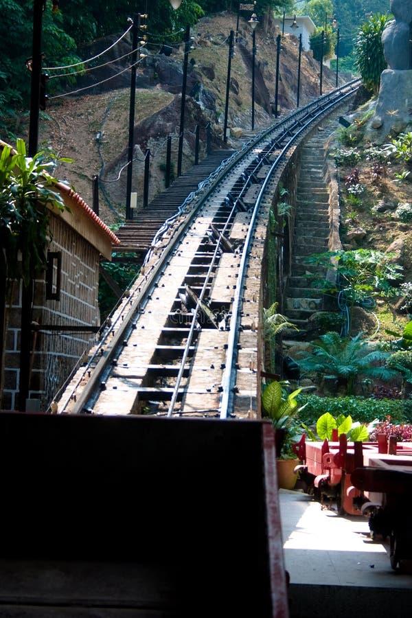 Chemin de fer funiculaire penang photos libres de droits