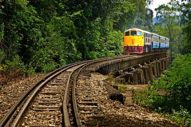 Chemin de fer images libres de droits
