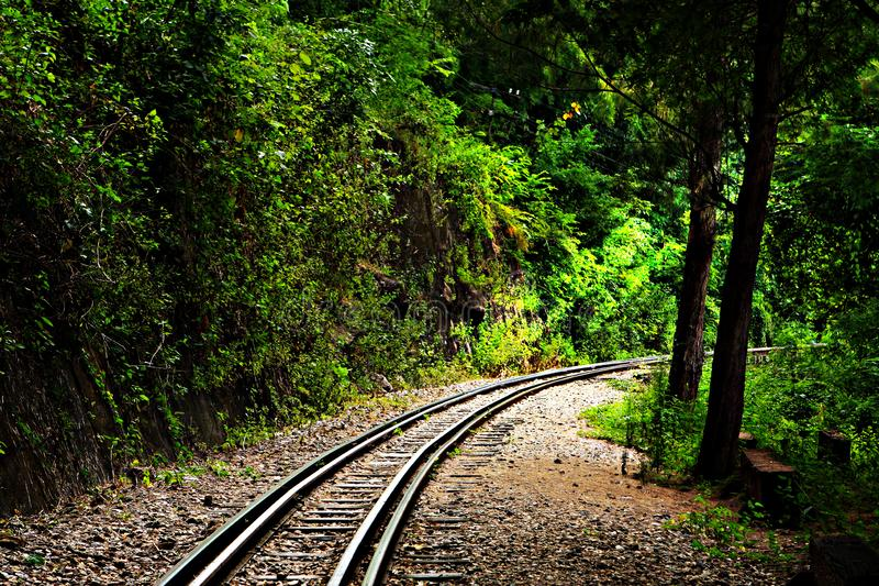 Chemin de fer photo libre de droits