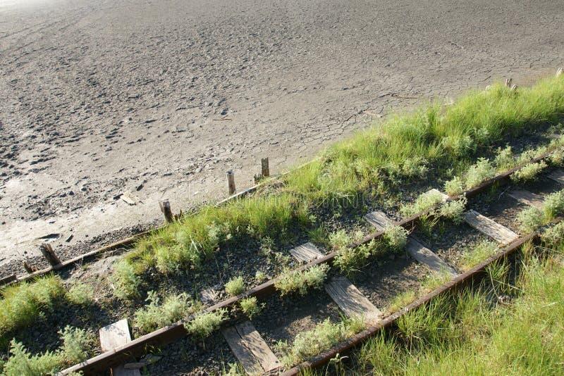 Chemin de fer oublié - 25 photo libre de droits
