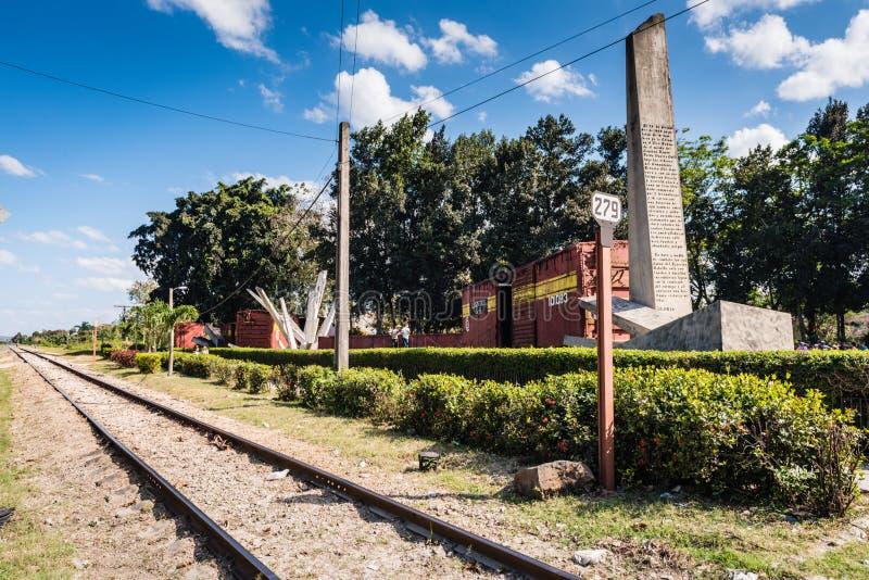 Chemin de fer de train blindé de Tren Blindado photos stock