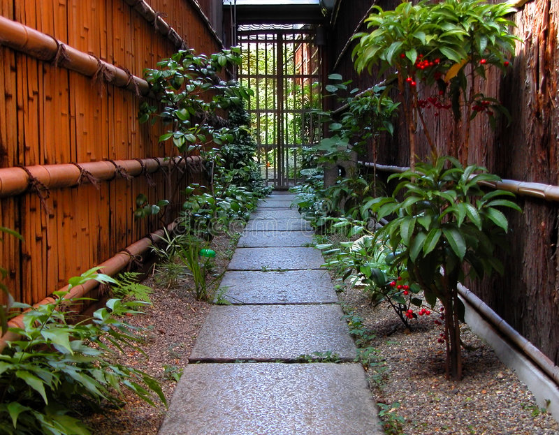 Chemin de Gion photographie stock libre de droits