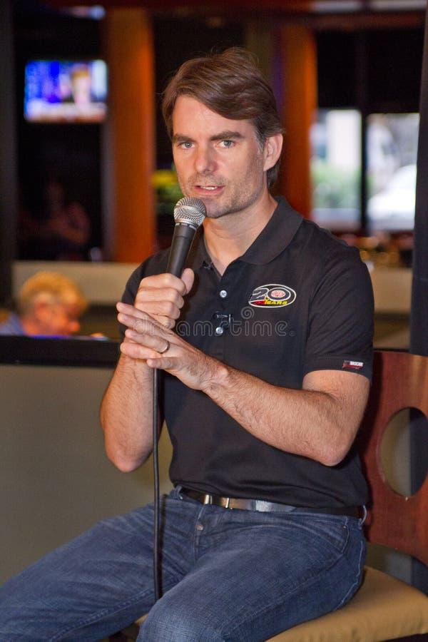 Chemin de Jeff Gordon NASCAR pour la chasse images libres de droits