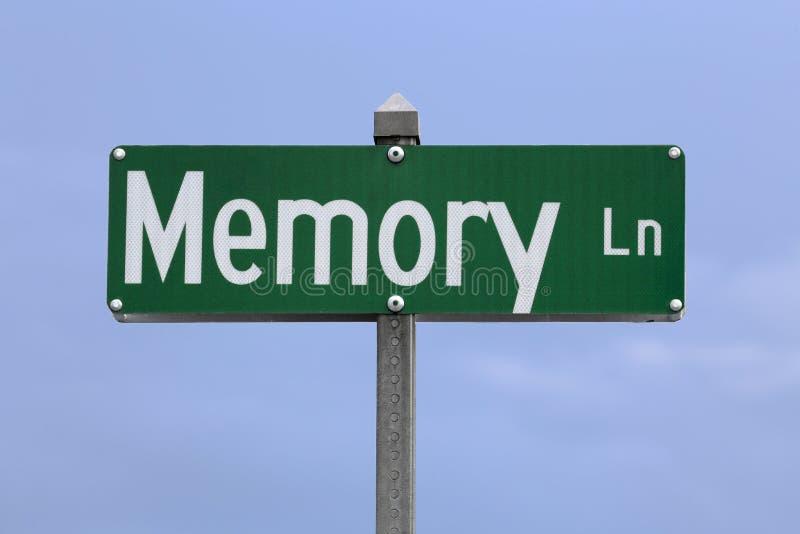 Chemin de la mémoire images libres de droits
