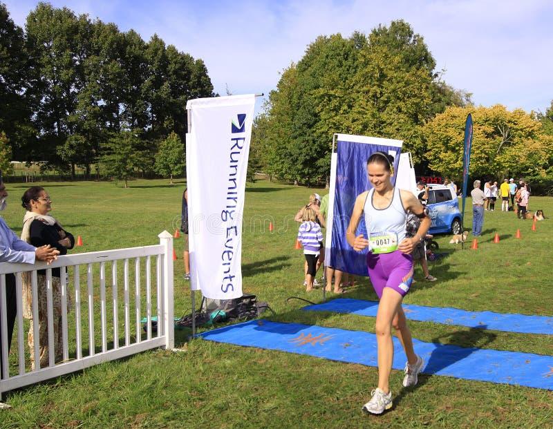Chemin de marathon photo libre de droits