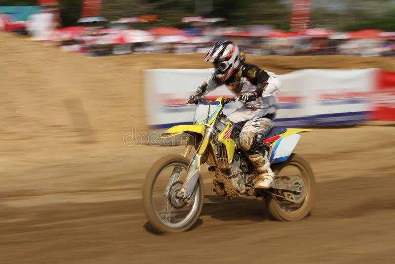 Chemin de motocross photographie stock libre de droits
