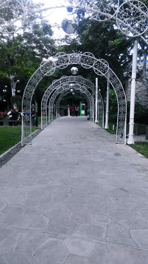 Chemin de parc de Cetral photos stock