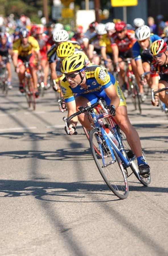 Chemin de route de bicyclette photographie stock libre de droits