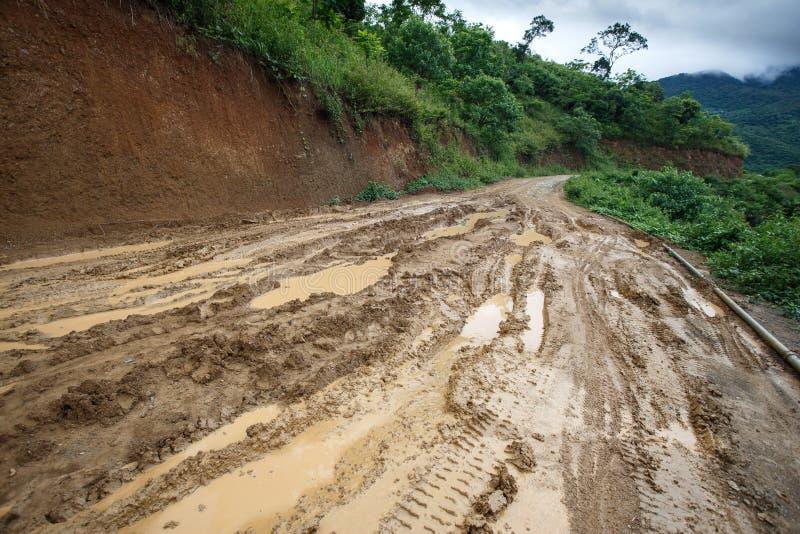 Download Chemin De Terre, Chin State, Myanmar Photo stock - Image du asiatique, asie: 56475952