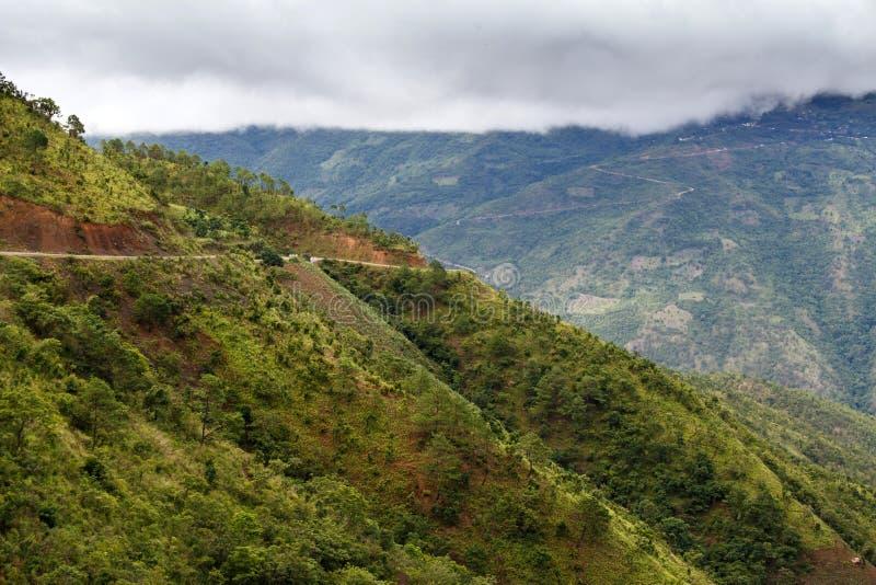 Download Chemin De Terre, Chin State, Myanmar Image stock - Image du état, beau: 56476473