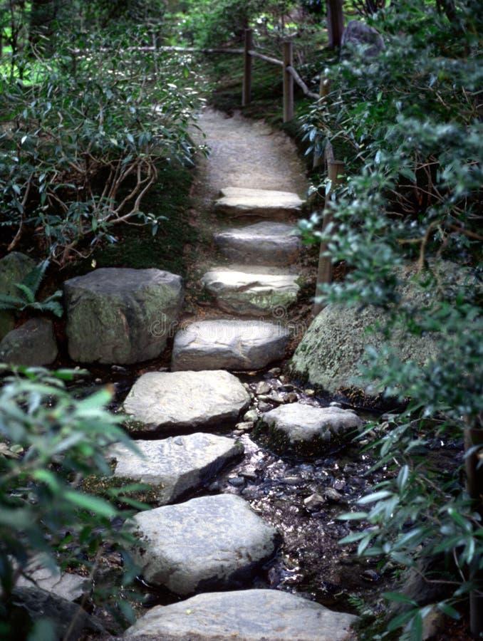 Chemin de zen image libre de droits