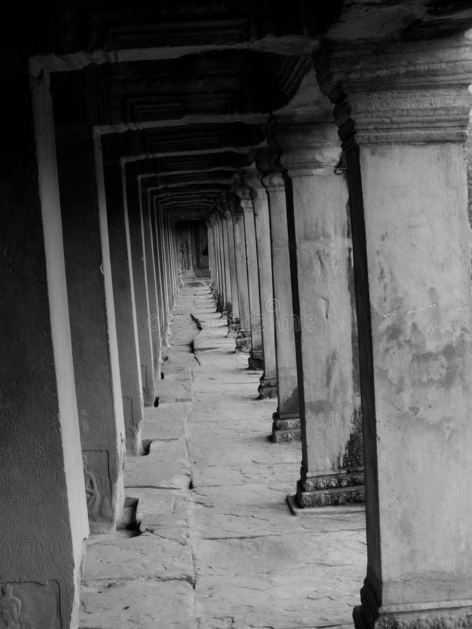 Chemin du roi du Cambodge image stock