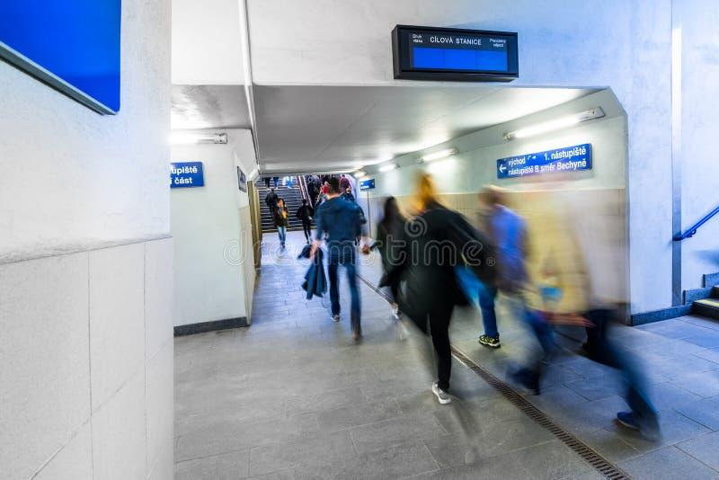 Chemin du train images libres de droits