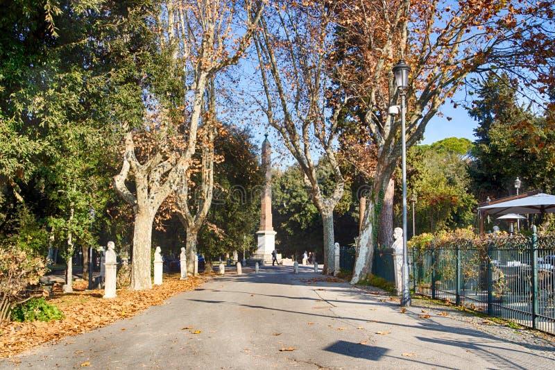 Chemin en parc de ville image stock