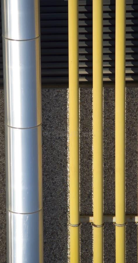 Chemin industriel image stock